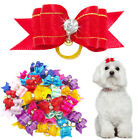 20pcs/lot Dog Hair Bows Pet Puppy Grooming Accessories Cute for Yorkie Chihuahua