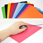 21.5 x 17.5cm Gaming PC Laptop Mouse Pad Anti-Slip Solid Color Rectangle Mat PlF