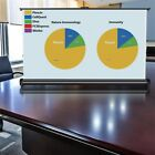 Diagonal Tabletop 16:9 Mini Projector Screen Projection with Carrying Bag UX