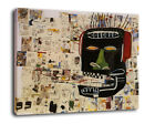 "Abstract Art Decor Oil Painting Print On Canvas jean-michel basquiat""glenn"""