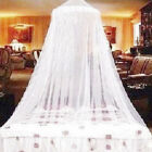 Bed Mosquito Canopy Anti-Insect Fly Round Dome Netting Lace Mesh Curtain Drape image