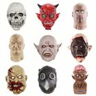 Ghost Mask Party Cosplay Costume Halloween Horror Scary Mask Clown Zombie US