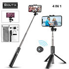 Extendable Selfie Stick Bluetooth Tripod Mount for iPhone 7 8...