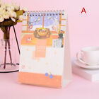 2019 Cherry Blossom Autumn Leaves Table Calendar Agenda Daily Schedule PlannerPl