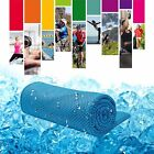 1/2/5x Ice Cold Instant Cooling Towel Running Jogging Gym Chilly Pad Sports Yoga image