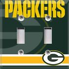 Football Green Bay Packers Light Switch Cover Choose Your Cover on eBay