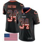 Chicago Bears Walter Payton 34 Stars and Stripes Jersey