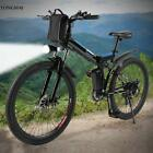 """26"""" 250W 36V Electric Mountain Bicycle EBike Speed Lithium Battery Black/White T"""