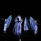 Stage Performance Props Shining Child 360 LED Isis Wings w Sticks Belly Dance