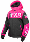 FXR Black/Fuchsia Youth Helium Insulated FAST Snowmobile Jacket Snow 2019