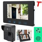 "7"" LCD Wireless Night Camera 2.4GHz Video Doorbell Smart Intercom Door Phone IR"