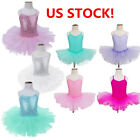 Внешний вид - Toddler Girls Ballet Leotard Tutu Skirt Ballerina Dress Skate Costume Dance Wear