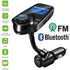 Hands-free Bluetooth Car Kit FM Transmitter MP3 Radio Player Adapter USB Charger