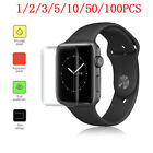 2/3/5/10/50/100X Fr Apple iWatch Series 4 Ultra-insubstantial Protective Film 40/44MM lot