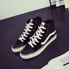 Classic Mens Womens Canvas Sneakers OLD SKOOL Lace-up High Top Sport Shoes