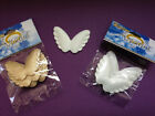 """WHOLESALE LOT 36 Pc ANGEL Wings 2"""" wide Pick White Gold Silver or Mixed Free S/H"""