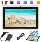 """7"""" Android 4.4 Quad Core Dual Camera Wifi Bluetooth Tablet Pc 4gb Uk Kids Gift"""