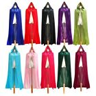 Внешний вид - Medieval Velvet Hooded Cloak Halloween Witchcraft Larp Capes Wicca Long Robe