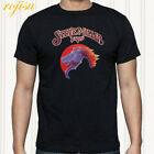 The Steve Miller Band Greatest Hits Rock Band Men's Black T-Shirt Size S to 3XL image