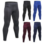 Men's Workout Compression Legging Workout Gym Pants with Pocket Moisture Wicking