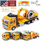 Toy Construction Vehicles Excavator Truck Transport Tractor Cool Kids Toys Xmas