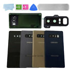 For Samsung Galaxy Note 8 Replacement Back Real Glass Cover Camera Lens & Tools