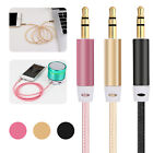 Aux Cable 3.5mm Gold Plated Male to Male Auxiliary Cord for Car Beats Headphone