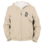 "Bradford Exchange Women's ""Loyal Companion"" Reversible Jacket Embroidered Paws"