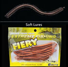 50PCS/Lot Soft Fishing Lures Soft Bait Lifelike Smell Lure Sea Worms 130mm/5.12""