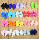 Girls Popular Ribbon Bow  Hairpins Cotton,Silicone,Polyester Children Hair Clip