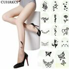 Fashion Sexy Tattoo Tights Stockings Transparent Ultra-thin Ladies Girl and Wome