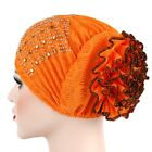 Women Muslim Hijab Turban Head Wrap Hair Loss Scarf Cover Chemo Cap Cancer Hat