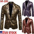 US Men Gorgeous Clubs Wedding Party Tuxedo Dinner Formal Suit Blazer Jacket Coat