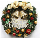Christmas Wreath Merry Christmas Party Graland Home Hanging Window Décor US