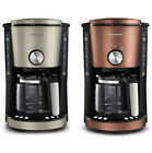 Morphy Richards Evoke 10 Cup Auto Electric Filter Coffee Maker/Machine w/ Timer