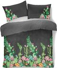 Sloth+%26+Ebony+Duvet+Cover+Set+Easy+Care+Percale+Quilt+Bedding+Single+Double+King