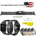 Stainless Steel Metal Watch Band Bracelet For Apple iWatch Series 40/44/38/42mm image