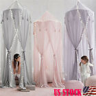 Princess Baby Mosquito Net Bed Kids Canopy Bedcover Curtain Bedding Dome Tent US image