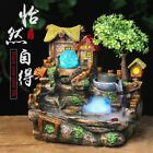 Water Fountain Feng Shui Ornament Artificial Aromatherapy Indoor Air Humidifier