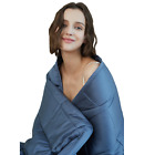 YNM Cooling Weighted Blanket, 100% Natural Bamboo Viscose,  Luxury Heavy Blanket image