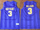 Prince Nelson Bryant Junior High Basketball Jersey Purple Rain The Rock Star NEW