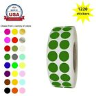 """Внешний вид - Round Colored Coding 0.66"""" Labels in Rolls 17mm Stickers for Inventory Labeling"""
