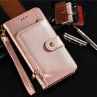 Luxury Zipper wallet Flip Phone Bag PU Leather Case For Oukitel Mix2 K3 C8 U22