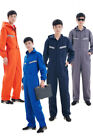 Men Women Boilersuit Hooded Coverall Overall Workwear Tuff Work Pant Jumpsuit