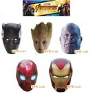 Rubies Infinity War Card Mask - Pappmaske, Iron Man Groot Panther Thanos Spider