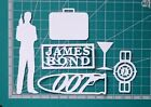 James Bond and 007 styled shapes - Card Making/Scrapbooking - Scan N Cut Shapes £3.5 GBP on eBay