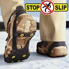 ❄️ All Sizes Snow Anti Slip Ice Grippers for Boots Shoes Grips Spikes Crampons
