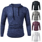 Men Casual Long Sleeve Hooded Hoodies Sweatshirt Slim Fit Tracksuit Sweater GIFT