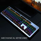 605B K11 Backlit Illuminated USB Wired Gaming Mechanical Keyboard for PC/Laptop