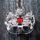 Creative Heart Shaped Teapot Base Glass Heating And Heat Preserving Candle Base